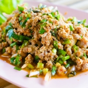 minced pork dish